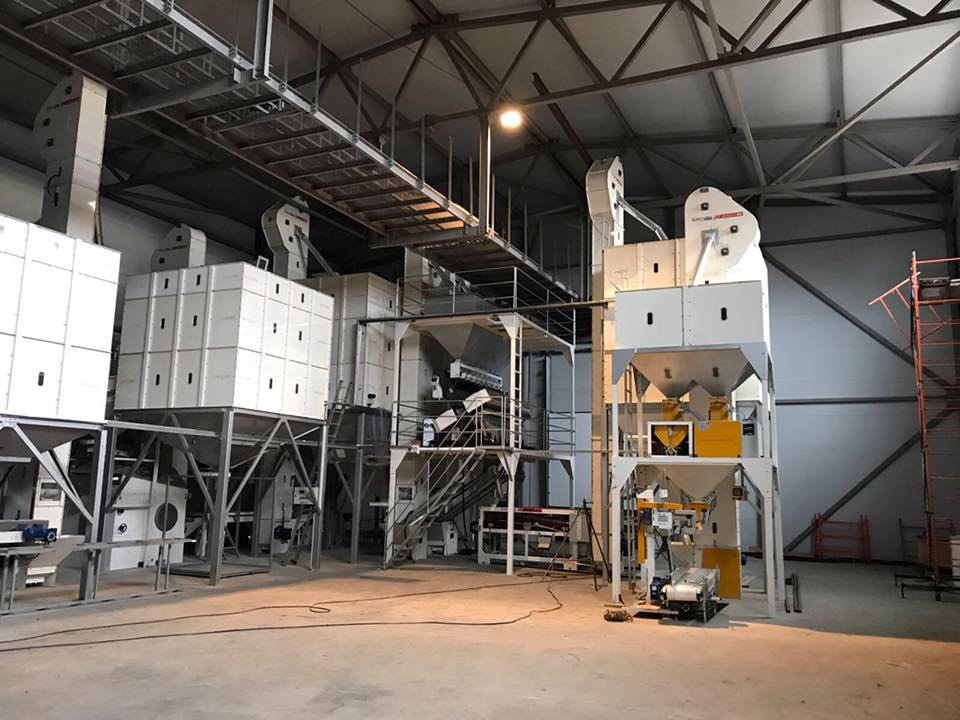 Seed processing plant (Turkey)