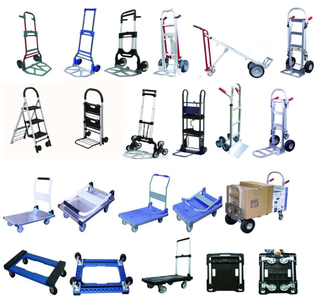 Fordable hand trucks (Taiwan)