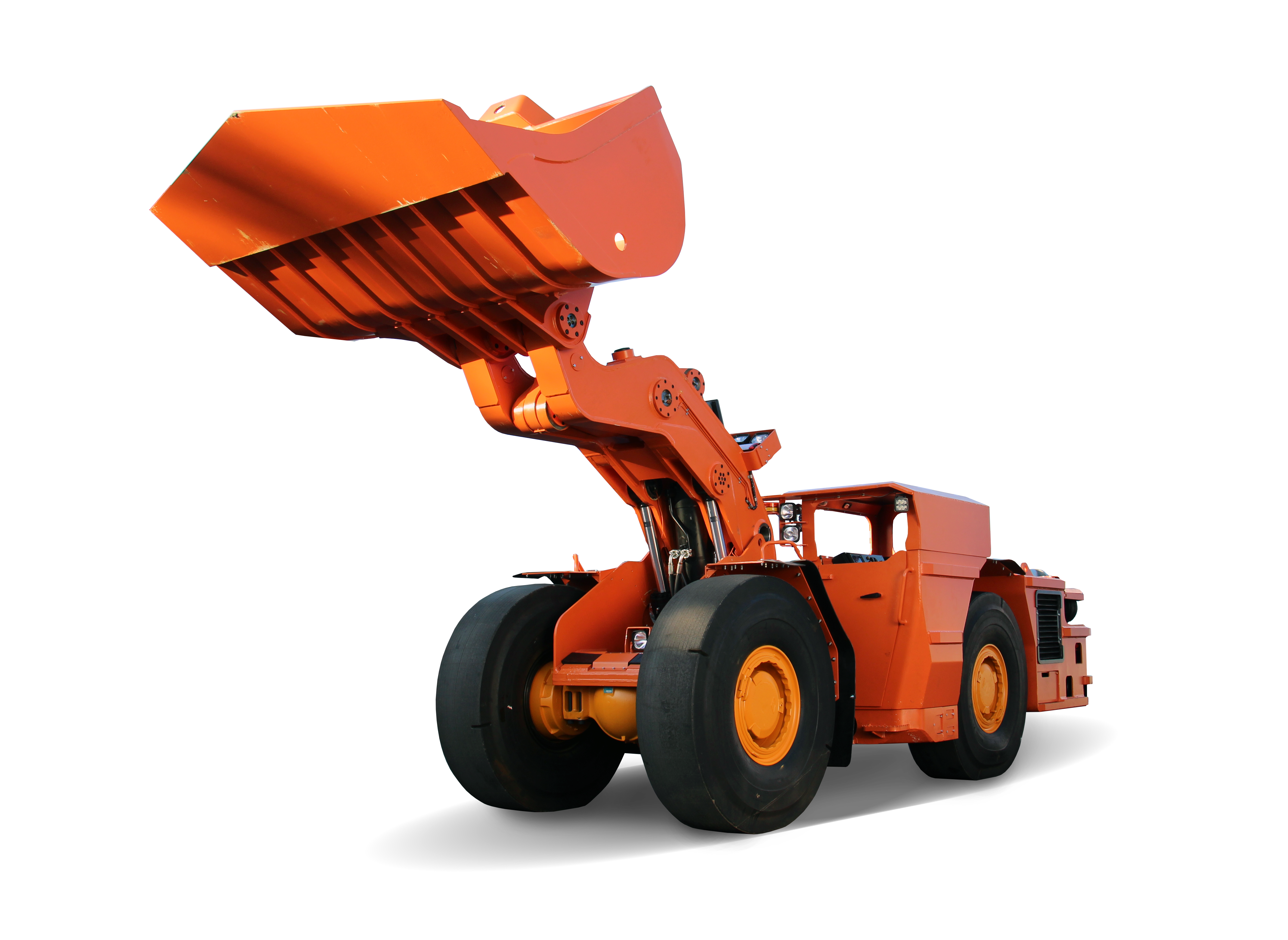 Mining wheel loader (Czech)